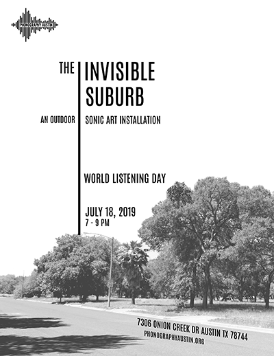 World Listening Day 2019 Austin