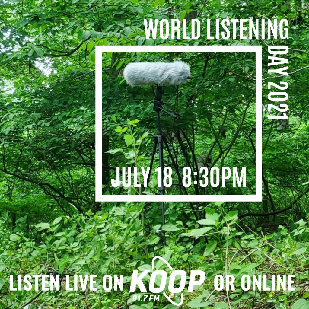 Phonography Austin presents World Listening Day 2021 live on air